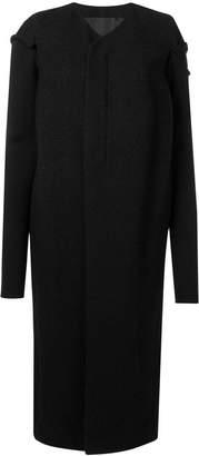 Rick Owens long straight fit coat