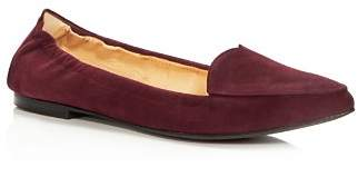 Isa Tapia Women's Nova Suede Pointed Toe Flats - 100% Exclusive