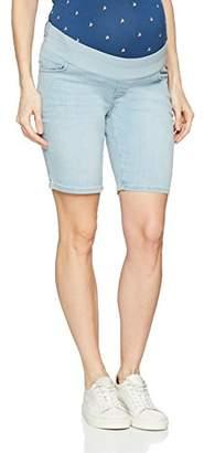 Esprit Women's Denim Utb Maternity Shorts,UK 8