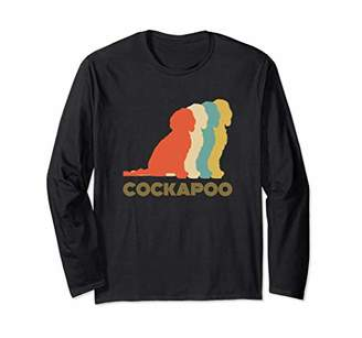 Breed Cockapoo Dog Vintage Look Long Sleeve Shirt
