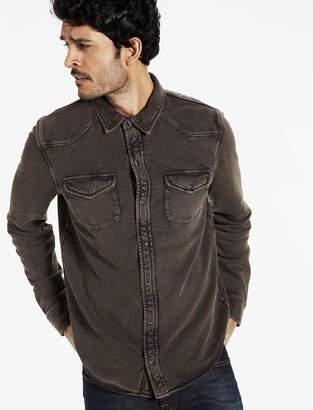 Lucky Brand Western Shirt Jacket