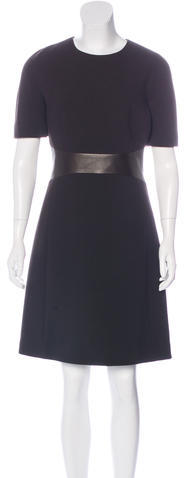 MICHAEL Michael KorsMichael Kors Wool A-Line Dress
