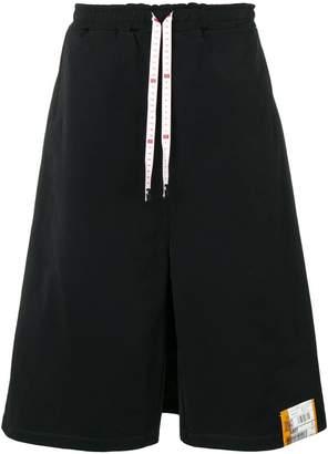 Puma Maison Yasuhiro cropped wide leg track trousers