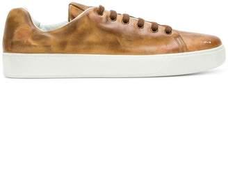 Premiata faded low top sneakers