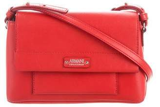 Armani Collezioni Leather Crossbody Bag