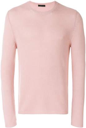 Prada round neck jumper