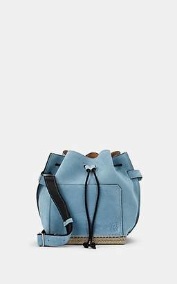 Altuzarra Women's Espadrille Suede Bucket Bag - Lt. Blue