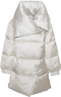 MonnaLisa Satin Logo Winter Coat