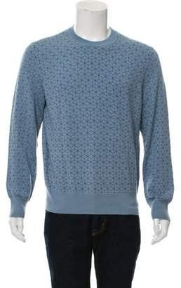 Jack Spade Geometric Pattern Wool Sweater