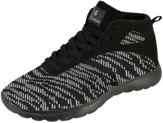 Black & White Fit Hi-Top Sneaker - Men $40 thestylecure.com