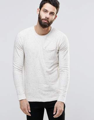 ONLY & SONS Knitted Sweater with Fleck