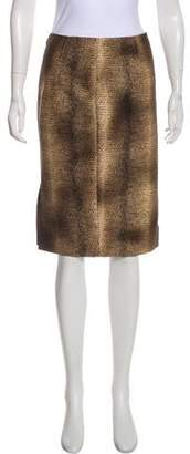 Giambattista Valli Knee-Length Pencil Skirt