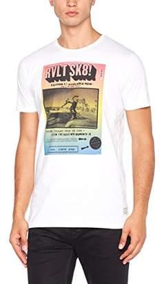 RVLT Men's Tee Print T-Shirt,XX-Large