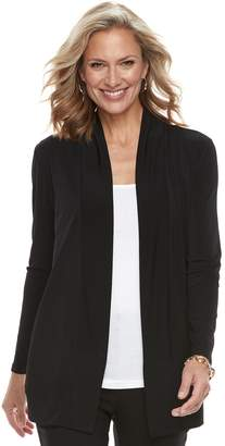 Dana Buchman Women's Shawl Collar Cardigan