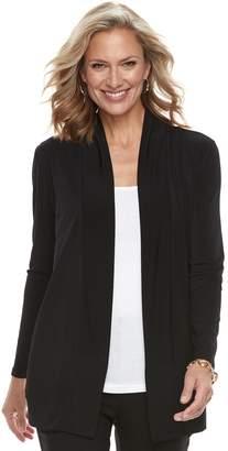 Dana Buchman Women's Shawl Collar Cardigan