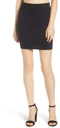 Soprano Stretch Ponte Mini Skirt