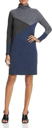Nic+Zoe Color Block Sweater Dress