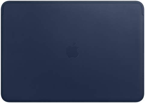 Apple Leather Sleeve for 15-inch MacBook Pro Midnight Blue