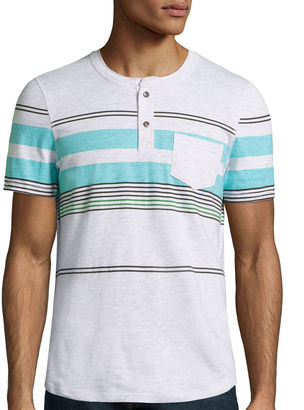 I JEANS BY BUFFALO i jeans by Buffalo Short Sleeve Henley Shirt $30 thestylecure.com