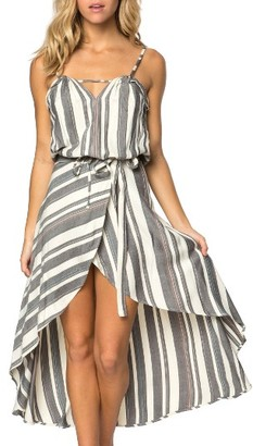 Women's O'Neill X Natalie Off Duty Savannah Woven Stripe Tank $39.50 thestylecure.com
