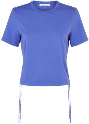 Cotton Citizen Lisbon Ruched Crop T-Shirt