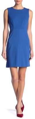 Diane von Furstenberg Carrie Crew Neck Dress