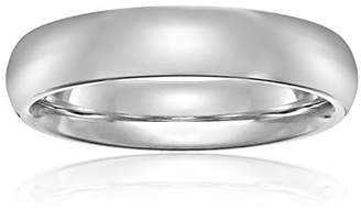 Standard Comfort-Fit 18K White Gold Band
