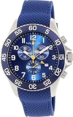 Nautica Men's NAD15501G Silicone Swiss Quartz Watch