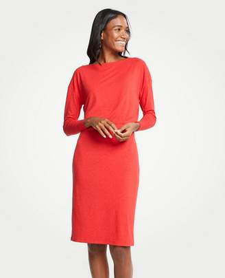 Ann Taylor Petite Shirred Sheath Dress