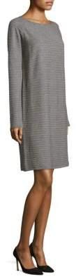 Lafayette 148 New York Flannel Rib Dress