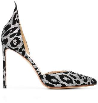 Francesco Russo pointed leopard print pumps