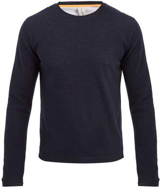 S0RENSEN Driver long-sleeved stretch-cotton sweater