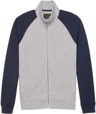 Banana Republic Moisture-Wicking Color Block Full-Zip Jacket