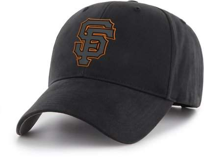 SAN FRANCISCO GIANTS MLB San Francisco Giants Black Mass Basic Adjustable Cap/Hat by Fan Favorite