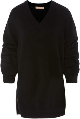 Michael Kors Ruched Asymmetric Cashmere Sweater