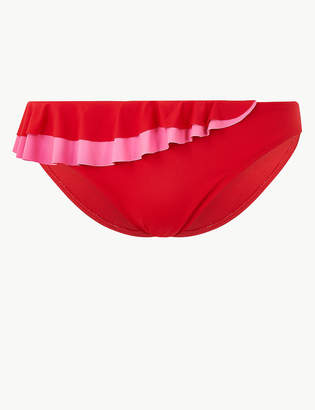 Marks and Spencer Ruffle Hipster Bikini Bottoms
