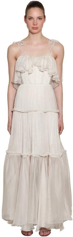 Silk Long Dress