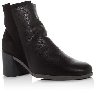 Arche Women's Angaya Square-Toe Block-Heel Booties
