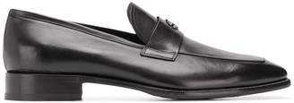 Roberto Cavalli square toe loafers
