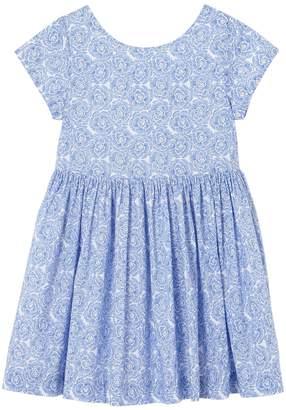 Jacadi Montdore Gathered Cotton Dress