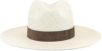 Janessa Leone Marcell Packable Hat in Bleach | FWRD