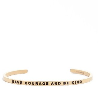 Women's Mantraband Have Courage & Be Kind Engraved Cuff $35 thestylecure.com