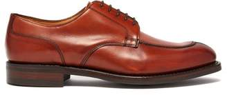 Cheaney Chiswick R Leather Derby Shoes - Mens - Brown