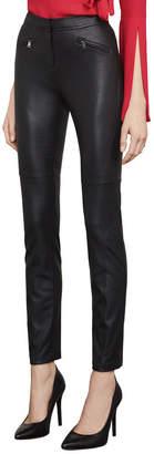 BCBGMAXAZRIA Navin Faux-Leather Moto Legging