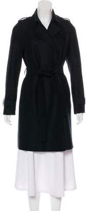 Harris Wharf London Virgin Wool Knee-Length Coat