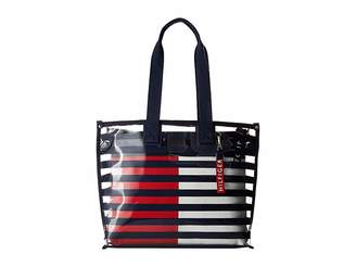 Tommy Hilfiger Summer Corp Canvas Tote Tote Handbags