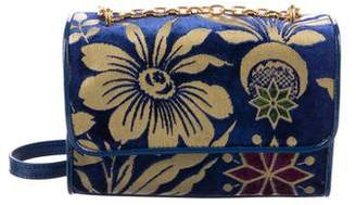 Tory Burch Fleming Floral Convertible Small Bag