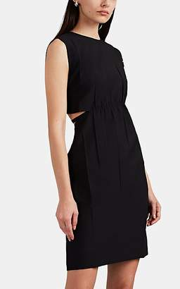 Helmut Lang Women's Strap-Detailed Cutout Shift Dress - Black