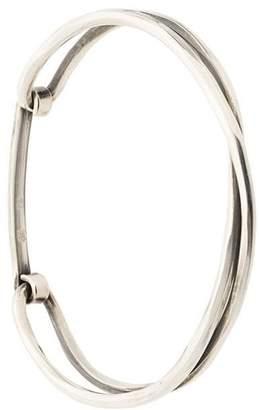 Werkstatt:Munchen Crossed bracelet