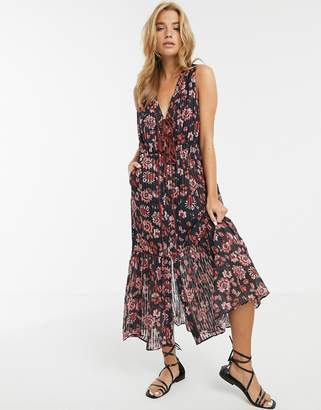 Stevie May Dakota floral print midi dress